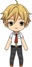 Tomoya Mashiro Summer Uniform chibi