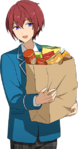 (Snacks) Tsukasa Suou Full Render Bloomed