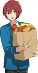 (Snacks) Tsukasa Suou Full Render Bloomed