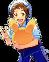 (Shining Rabbits) Mitsuru Tenma Full Render Bloomed