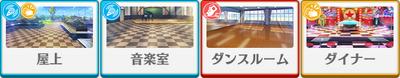 Revival☆Dream Diner Live Eichi Tenshouin locations