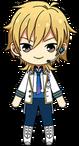 Kaoru Hakaze ES Idol Uniform chibi