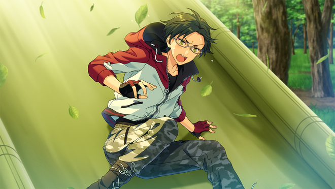 (Challenging Opponent) Keito Hasumi CG2