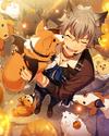 (Halloween Wolf) Koga Oogami Frameless Bloomed