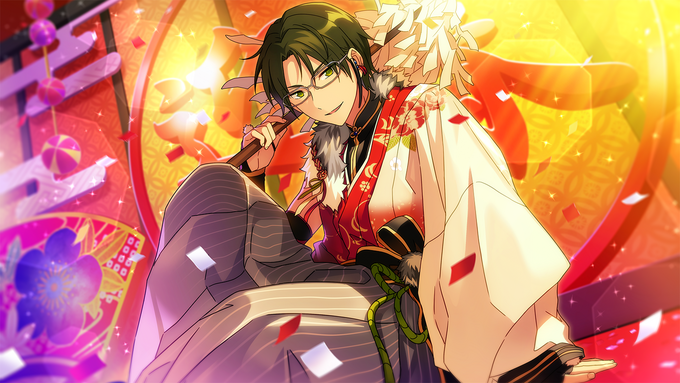 (Ambushing New Year) Keito Hasumi CG2