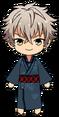 Koga Oogami Rainy Season Kimono chibi