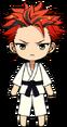 Kuro Kiryu Karate chibi