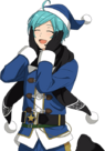 (Blue Santa) Kanata Shinkai Full Render Bloomed