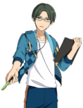 (Side Support) Keito Hasumi Full Render Bloomed