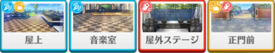 Play Your Part! Cinderella's Grand Stage Kuro Kiryu locations