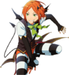 (Halloween Bat) Hinata Aoi Full Render Bloomed