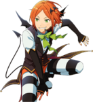 (Halloween Bat) Hinata Aoi Full Render Bloomed