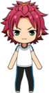 Mao Isara PE uniform chibi