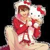 (Deep Red Friendship) Chiaki Morisawa Full Render Bloomed