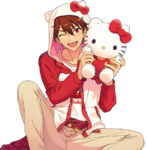 (Deep Red Friendship) Chiaki Morisawa Full Render Bloomed