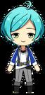 Kanata Shinkai academy idol uniform chibi