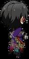 Rei Sakuma Succession Match chibi back