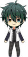 Mika Kagehira Summer Uniform chibi