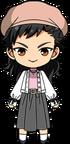Tetora Nagumo Dress Outfit chibi