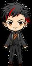 Tetora Nagumo Onigashima Outfit chibi