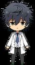 Jin Sagami Nurse chibi