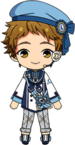 Mitsuru Tenma Compensation Fes Outfit chibi