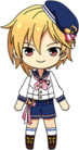 Nazuna Nito Marching Band chibi