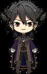 Rei Sakuma Devil Outfit chibi