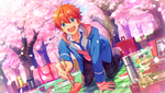 (Sakura-colored Spring Breeze) Subaru Akehoshi CG