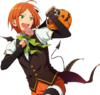 (Halloween Bat) Hinata Aoi Full Render