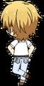 Kaoru Hakaze ES Casual (Spring-Summer) chibi back