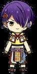 Shinobu Sengoku Tanabata Outfit chibi