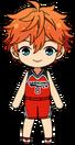 Subaru Akehoshi Basketball Club Uniform chibi