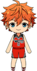 Subaru Akehoshi Basketball Club Uniform chibi