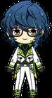Tsumugi Aoba ES Switch Uniform chibi