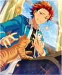 (Lantern and Cat) Kuro Kiryu Frameless