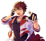 (Bright Red Excitement) Chiaki Morisawa Full Render Bloomed