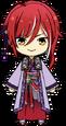 Natsume Sakasaki Feng Shui Master Outfit chibi