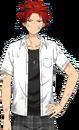 Kuro Kiryu 1st Year (Injured) Summer School Dialogue Render
