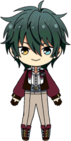 Mika Kagehira Air Force chibi
