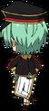 Tatsumi Kazehaya ALKALOID Uniform chibi back