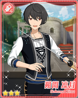 (Naturally Relaxed) Ritsu Sakuma Bloomed