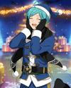 (Blue Santa) Kanata Shinkai Frameless Bloomed