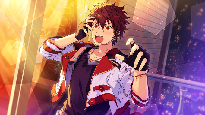 (Bright Red Excitement) Chiaki Morisawa CG2