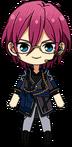 Ibara Saegusa Adam Uniform (With Headset) chibi