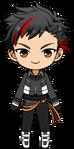 Tetora Nagumo RYUSEITAI uniform chibi