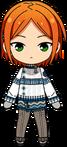 Yuta Aoi Winter CM Outfit chibi