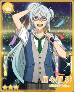 (Masked Announcer) Wataru Hibiki Bloomed