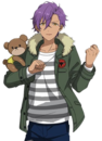 Adonis Otogari Casual Winter Dialogue Render