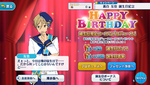 Tomoya Mashiro Birthday 2017 Campaign
